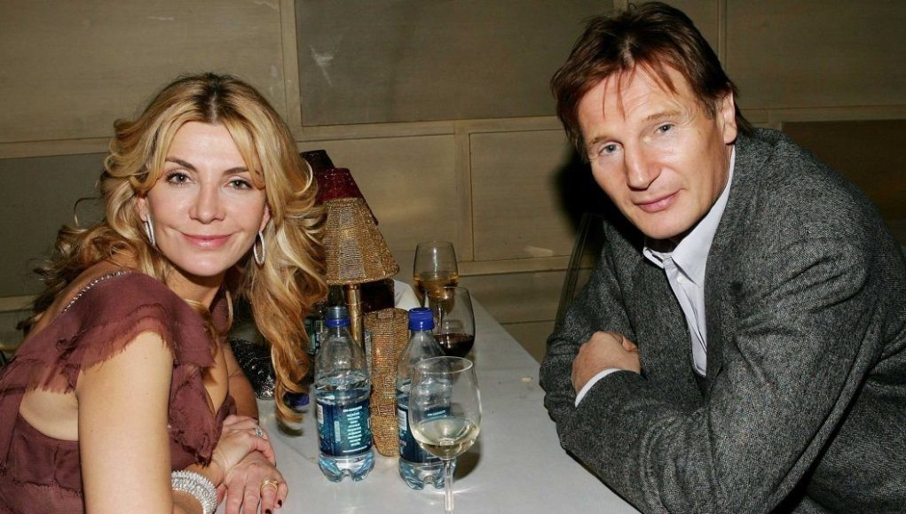 Liam Neeson's wife dp