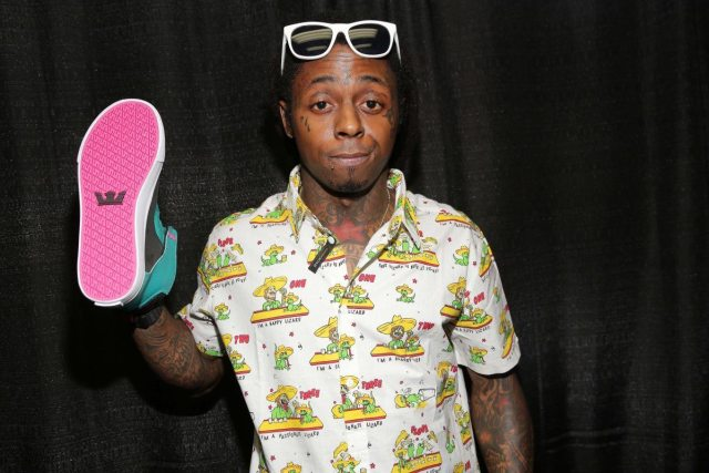 Lil Wayne's height shoes