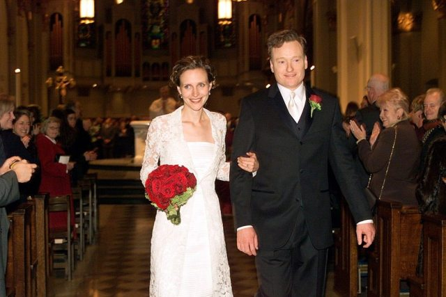 Conan O'Brien's wife