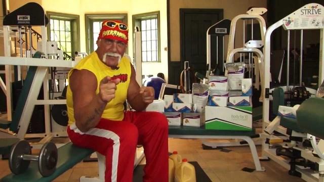 Hulk Hogan's height 7