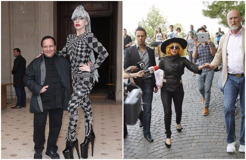 Lady Gaga's height 3