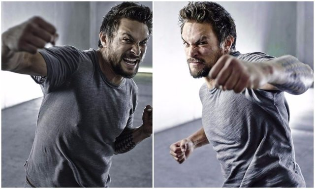 Jason Momoa's height 6