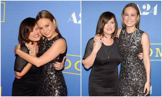 Brie Larson's mom 2