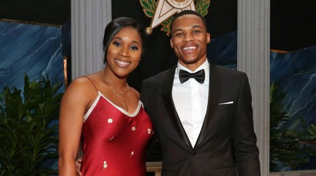 Russell and his wife, Nina Westbrook