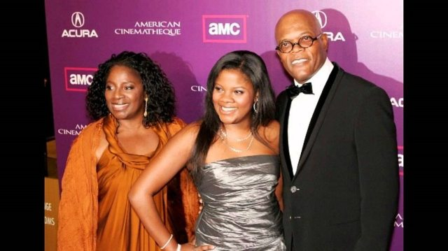 Samuel L Jackson and Family