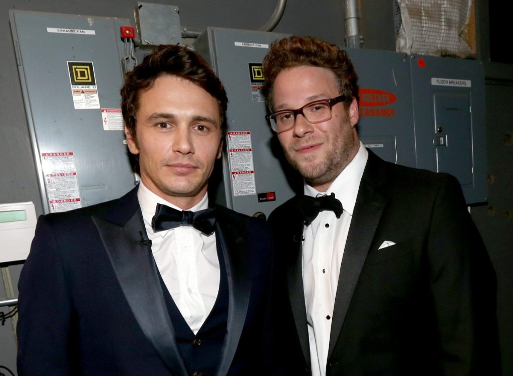 James Franco's height 2