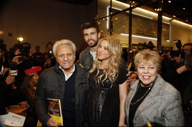 Shakira' husband and parents