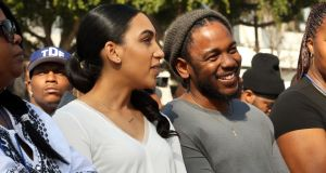 Kendrick Lamar's girlfriend
