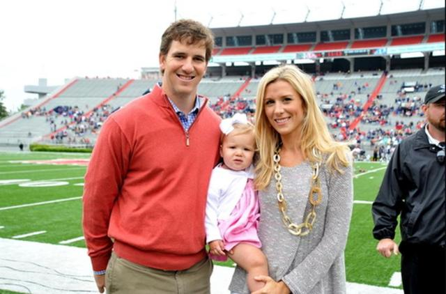 peyton manning kids. Eli Manning And Family Peyton Kids A
