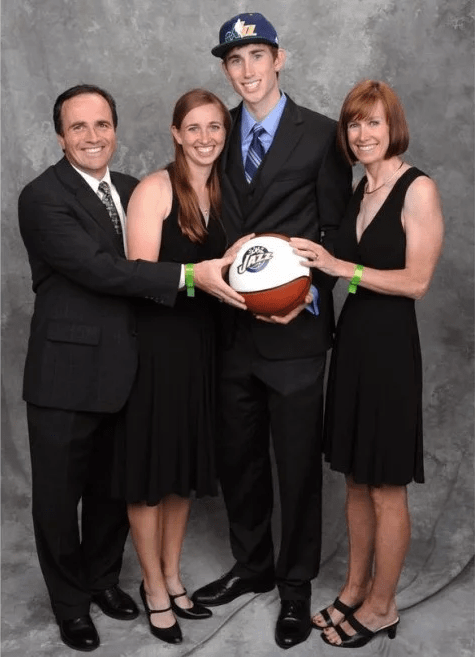 Gordon Hayward Taller Than His Parents