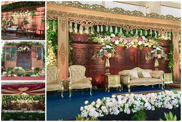 dekorasi perkawinan gunung kidul - griya dekorasi
