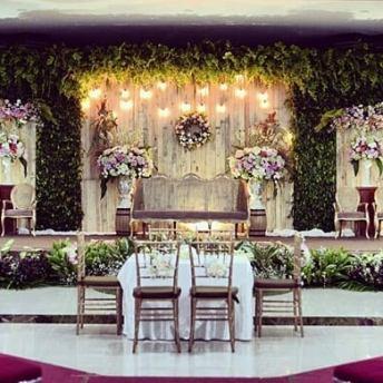 dekorasi pernikahan lampung