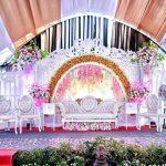 Dekorasi pernikahan bontang