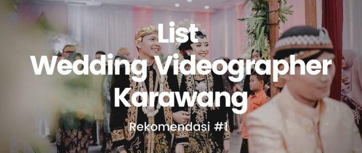 Wedding Videographer Karawang
