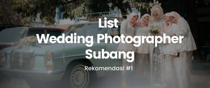 Wedding Photographer Subang