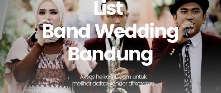 Wedding Bands bandung