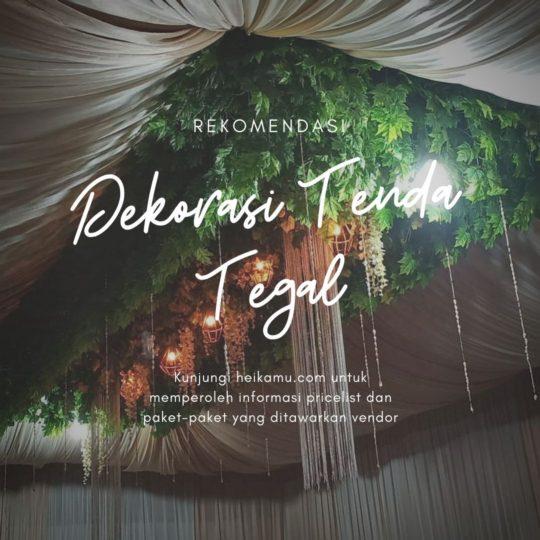 dekorasi tenda pernikahan tegal