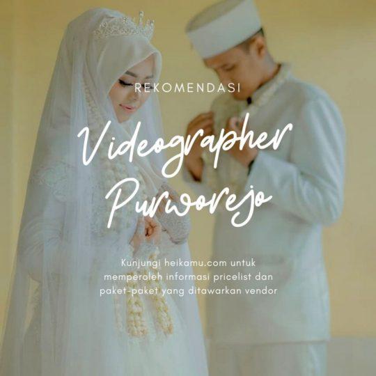 Videografer Wedding & Prewedding Purworejo