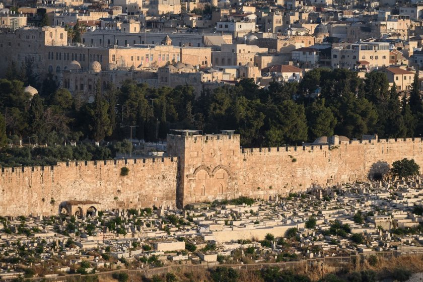 The Golden Gate, Temple Mount, Jerusalem
