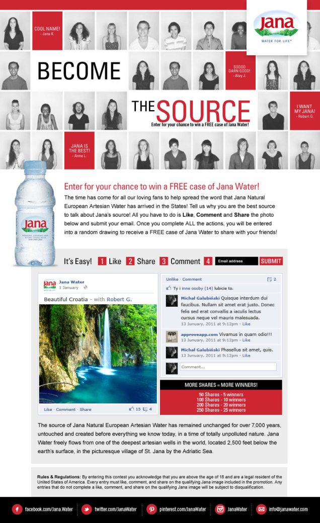 Jana Water-Become The Source!