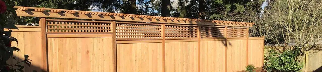 Pacific Northwest Fence Building Contractor   Heilman Deck & Fence