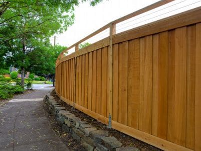 wood fence installation woodinville