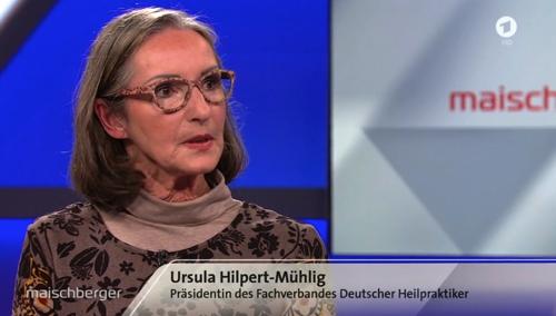 Heilpraktikerin führt in Maischberger-Talkshow das Politiker-Lobbyisten-Duo Lauterbach und Grams vor