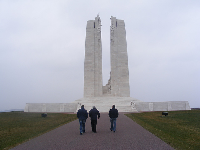 Vimy Ridge Canadian WW1 Memorial France: World Canada War 1 Programme Somme France & Messines Belgium - Exploring Irelands role in the Great War