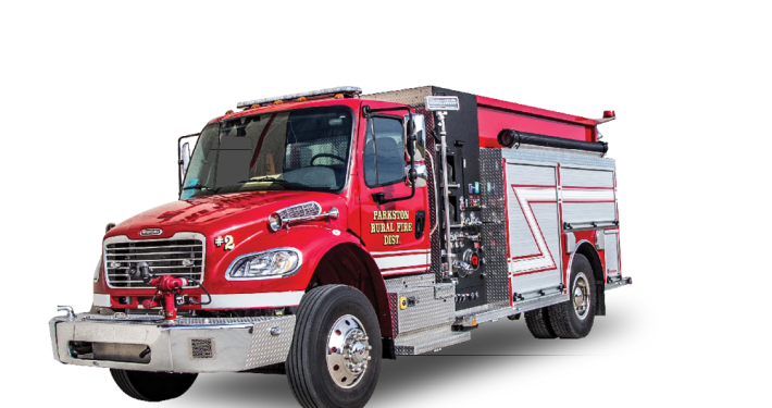 Heiman Fire Trucks - South Dakota Fire Trucks - Parkston Fire Dept