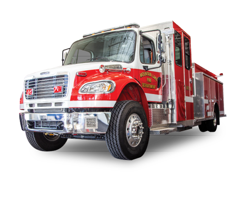 Heiman Fire Trucks - Rosenbauer Pumper Mountain Lake Fire Department