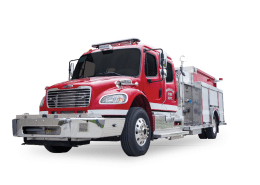Hallock Fire Department - Heiman Fire Apparatus - Rosenbauer Pumper