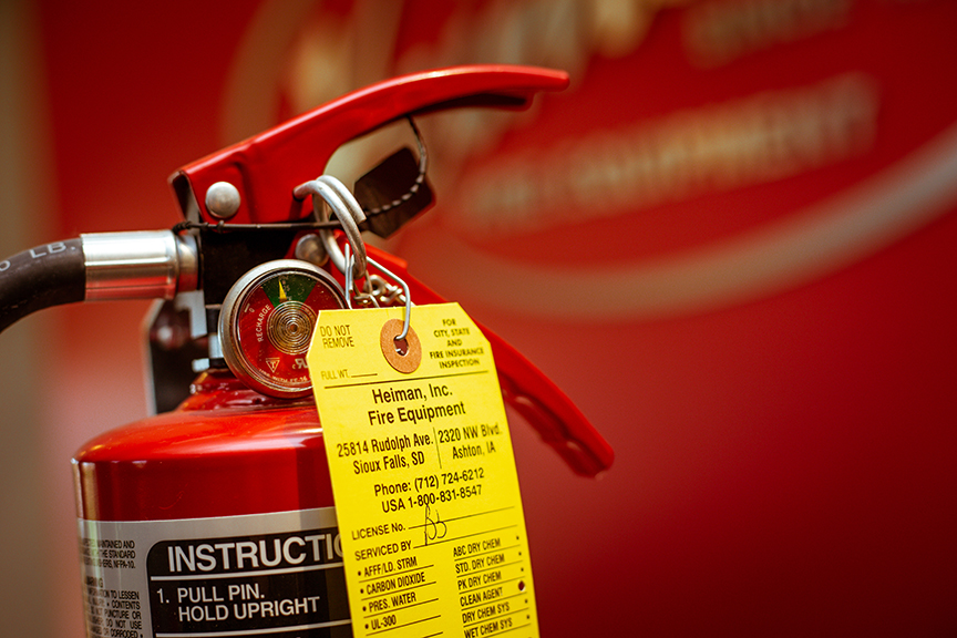 Extinguishers Industrial Sales Sioux Falls, SD