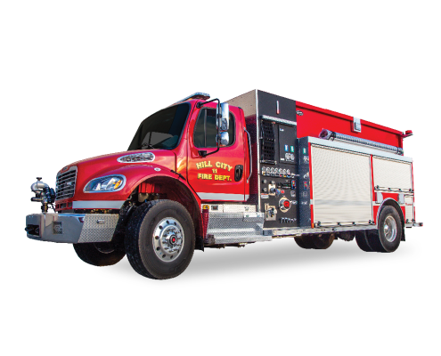 Hill City Fire Trucks Rosenbauer Maverick