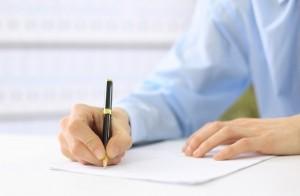Handschriftliche Bewerbung