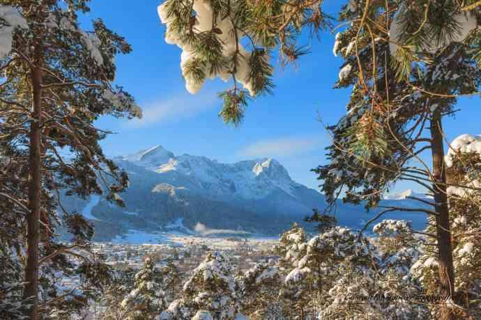 Winter in Garmisch-Partenkirchen