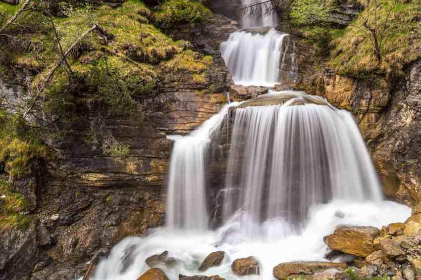 Wasserfall der Kuhfluchtfälle