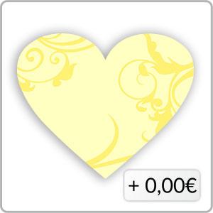 Schnörkel gelb