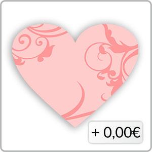 Schnörkel rosa