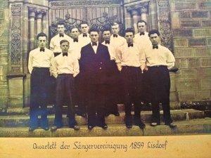 Quartett der Sängervereinigung 1859 Lisdorf