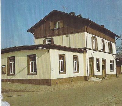 Heimatlexikon ThaleischweilerFrschen  Bahnhof ThaleischweilerFroeschen