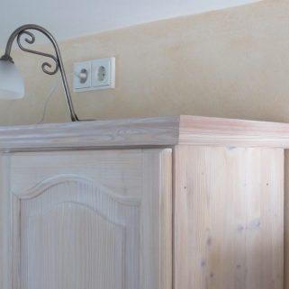 helle Holzküche