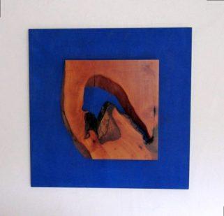 Birnbaum auf Ultramarinblau