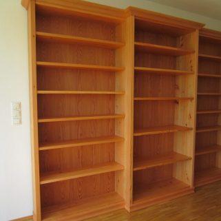 Bücherregal Lärche massiv
