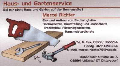 Heimatverein Liederhain Dittersdorf eV  Sponsoren