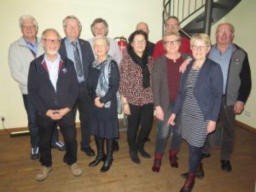 Der aktuelle Vorstand des Mettinger Heimatvereins