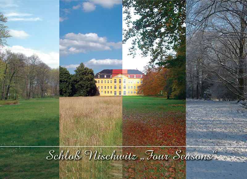 SchlossNischwitz - 4 seasons Heimatverein Nischwitz © 2009 J. Mänz