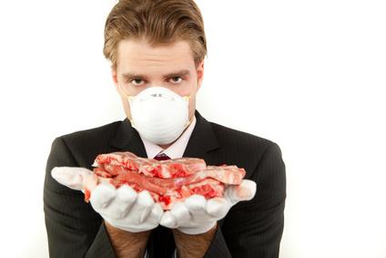 Seifenspender Schutz von Lebensmitteln