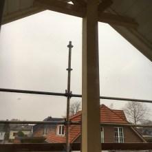 Verzierung vom Balkon aus