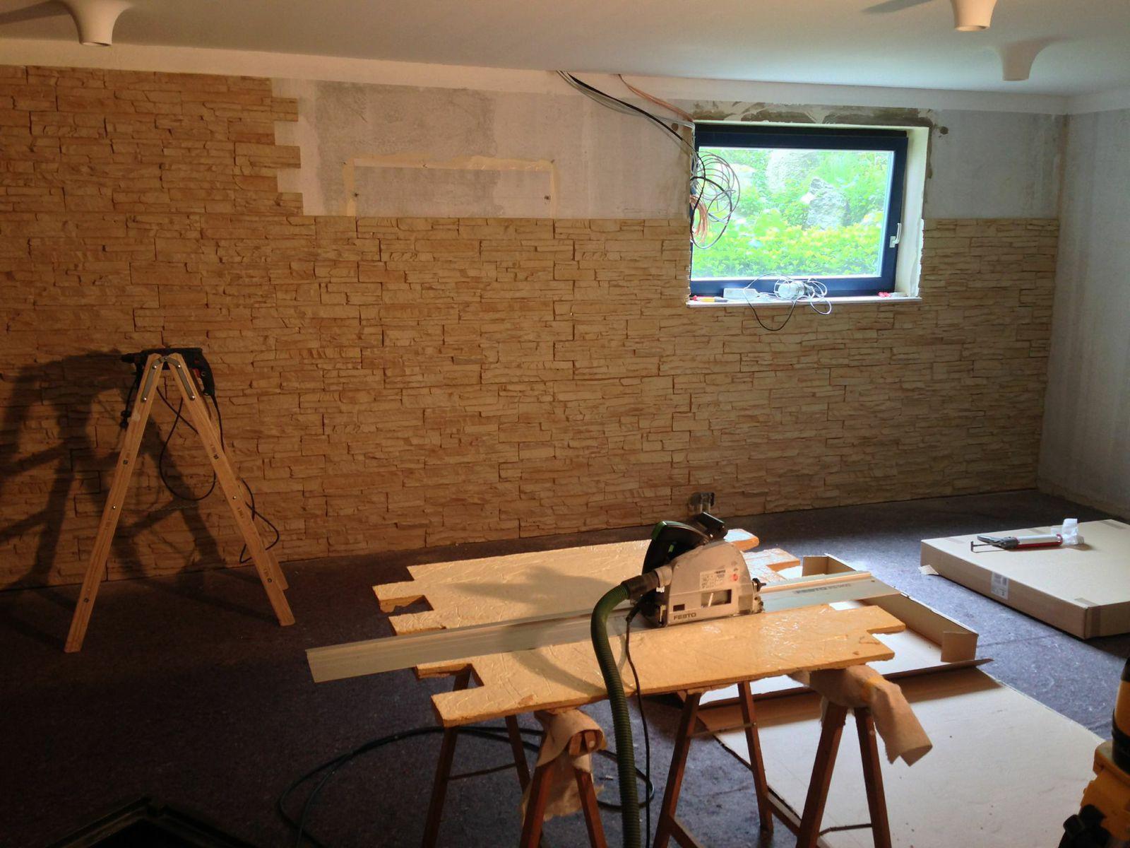 Gut bekannt Wandgestaltung Partyraum | Wohnzimmer Tapezieren Moderne SX95