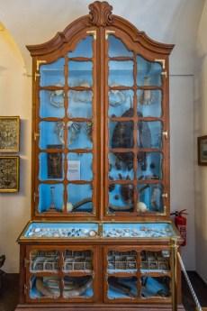 Ausstellungsstücke im Kloster